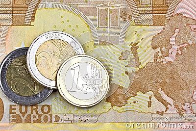 Euro zone money