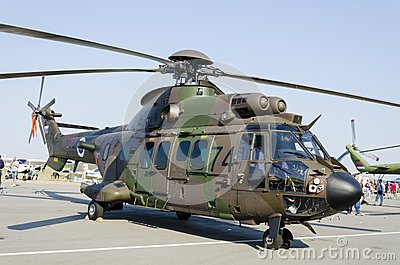Eurocopter a5532 Cougar Editorial Photo