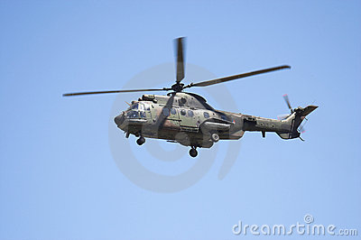 Eurocopter Cougar in flight