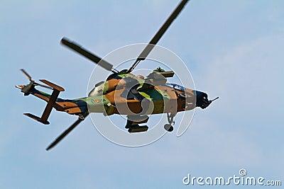 Eurocopter EC-665 Tiger Editorial Stock Photo