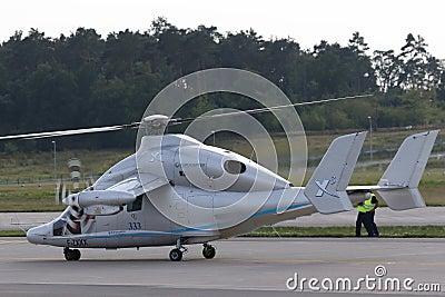 Eurocopter X3 Editorial Photography