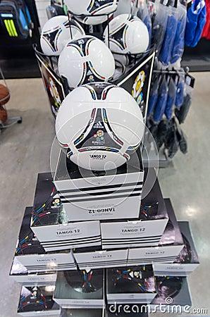 Eurocup 2012 tango official ball Editorial Photography