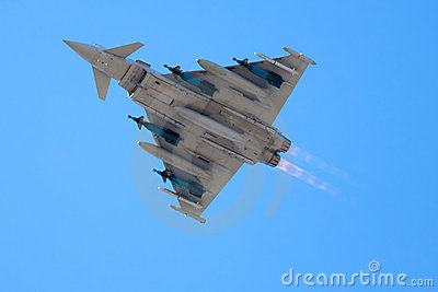 Eurofighter Typhoon Editorial Stock Image