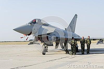 Eurofighter Typhoon Editorial Image
