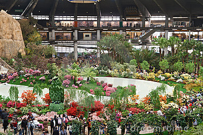 Euroflora 2011, Genova, Italy Editorial Photography