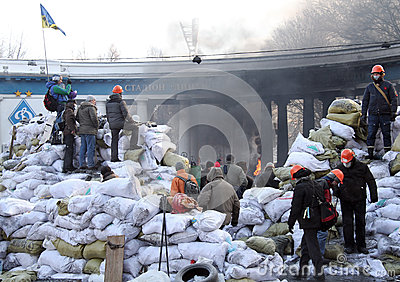 Euromaidan Editorial Stock Photo