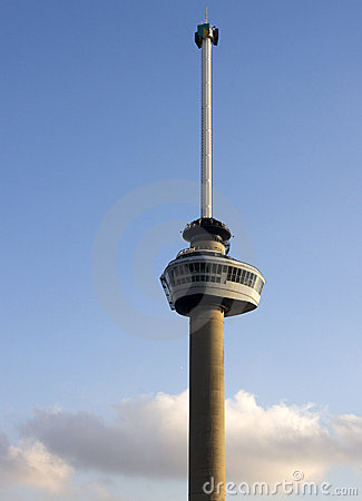 Euromast in Rotterdam, The Netherlands Editorial Stock Photo