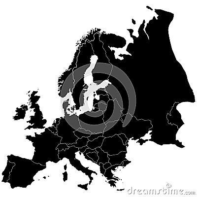 Europa Elk land is clearl