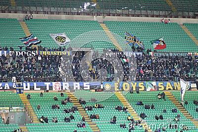 Europa League Inter vs Neftchi Baku 2-2 Editorial Image