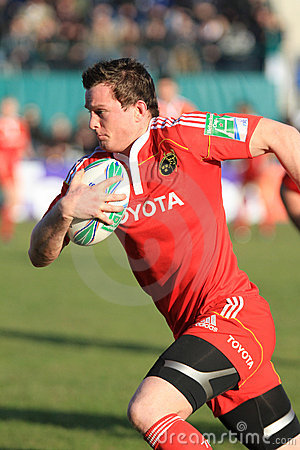Europa Rugby Cup - Benetton vs Munster Editorial Photo