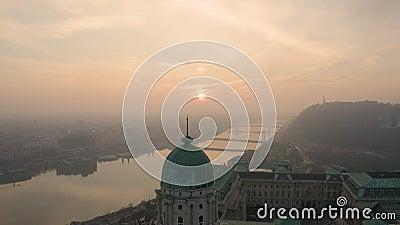 Europa Ungarn Budapest Matthias Kirche Fischerei-Bastion stock video footage