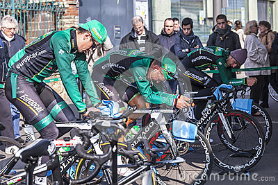 Europcar-Team Redaktionelles Foto