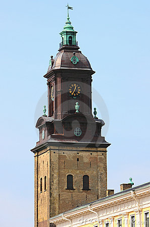 Europe ancient bell tower