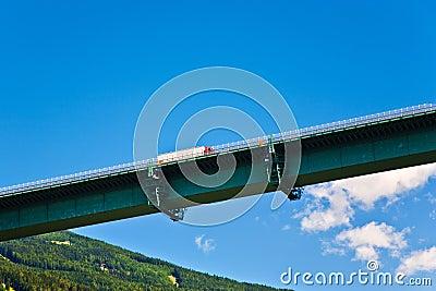 Europe Bridge at Brenner Highway
