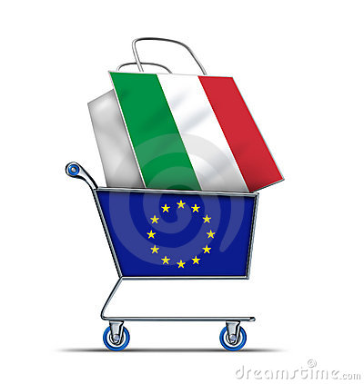 Europe buying Italian and Italy debt