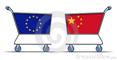 Europe china trade deficit embargo balance of impo