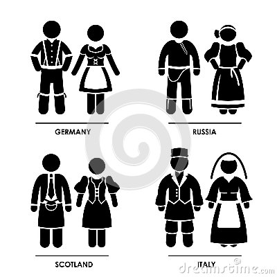 Europe Clothing Costume