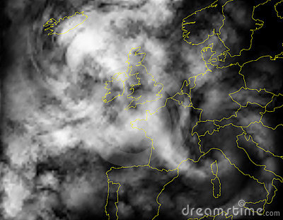 Europe Cloud Stock Image - Image: 22158261