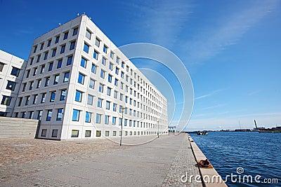 Europe modern buildings