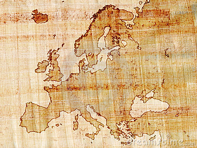 Europe on papyrus