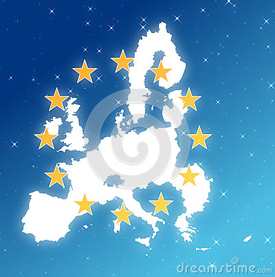 Europe in the sky