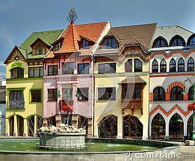 Europe square in Komarno