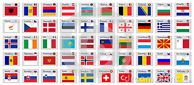 Europe stamps