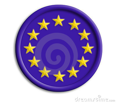 Europe union shield for olympics