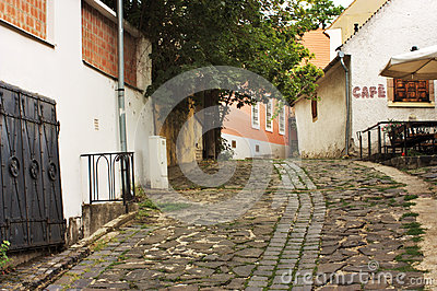 European alley, Szentendre Hungary