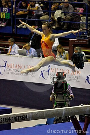 European Artistic Gymnastic Championships 2009 Editorial Photography