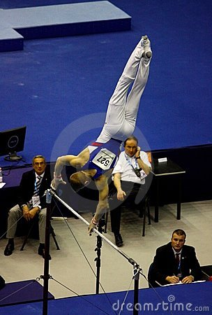 European Artistic Gymnastic Championships 2009 Editorial Stock Image