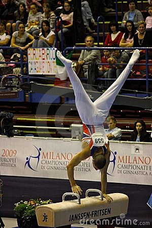 European Artistic Gymnastic Championships 2009 Editorial Photo