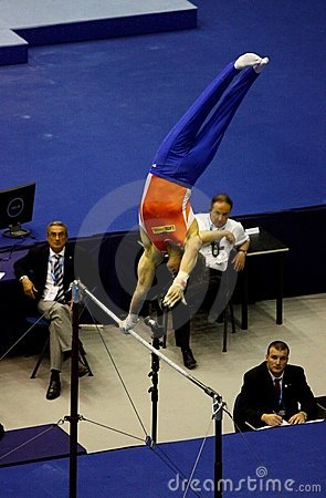 European Artistic Gymnastic Championships 2009 Editorial Image