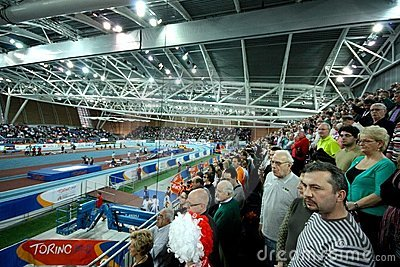 European Athletics Indoor Championships Editorial Stock Photo