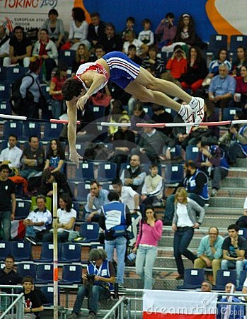 European Athletics Indoor Championships Editorial Stock Photo