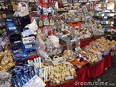 European Candy Editorial Stock Photo