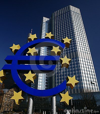 European Central Bank Editorial Image