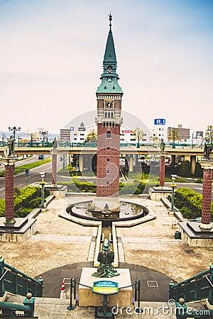 Free European Clock Tower In Kurashiki, Japan Stock Photo - 42648140