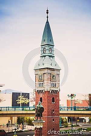 Free European Clock Tower In Kurashiki, Japan Royalty Free Stock Image - 42648156