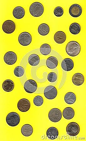 European coins before euro