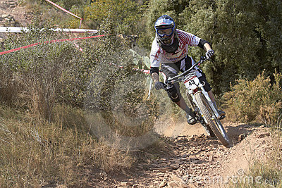 European Downhill Cup Editorial Photo