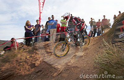 European Downhill Cup Editorial Stock Photo