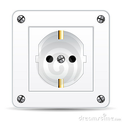 European electric plug