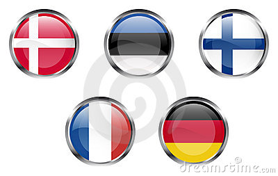 European flag buttons - Part 2