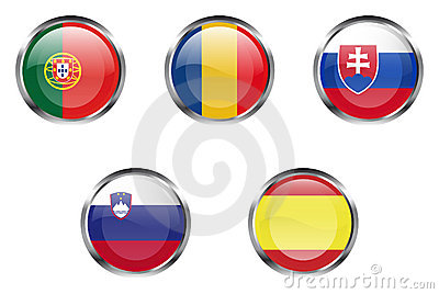 European flag buttons - Part 5