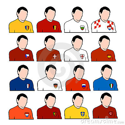 European football national teams