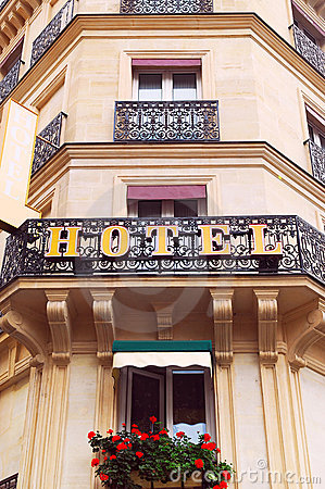 Free European Hotel Royalty Free Stock Images - 2981439