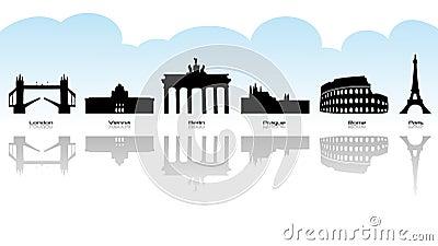 European landmark