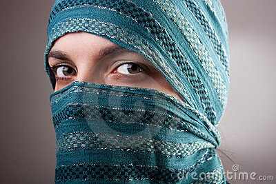 European Muslim Woman Stock Image - Image: 17659071