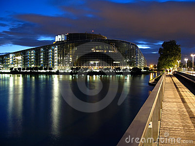 European Parliament 01, Strasbourg, France
